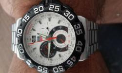 Tag Heuer mens watch. Formula 1. Excellent condition.