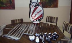 Beskrywing New set, 4-9 irons, Driver 10,5, 3 wood, 5