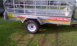 closed trailers for hire 5ft 6ft 7ft large luggage open