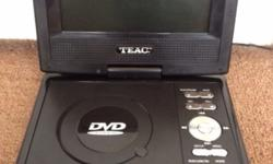 Like new. Versatile & very useful DVD player on the go.