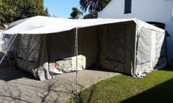 FULL L/SHAPE TENT COMES FROM A 2001 EXCLUSIVE, AFRICA