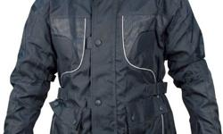 Texdura jacket, waterproof and quilted. With removable
