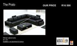 The Prato corner sofa is a stunning yet practical