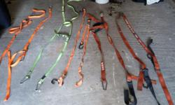 5 sets of good quality tie downs.  Contact Connie