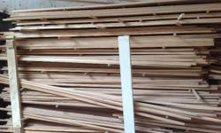 Approx 3 to 4 cubic meters of timber strips 18mm x18mm
