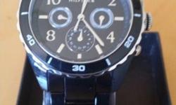 New Hilfiger mens watch, brand new Casandra