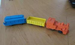 Tomte Laerdal plastic train from 1960s - R150.00 call