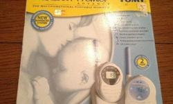 Excellent condition Tomy Baby monitors, Rechargeable