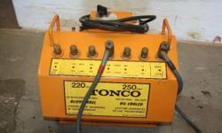 i am selling my tonco 250 amp welder in excellent