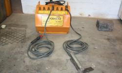 I HAVE A 250 AMP TONCO WELDER TO SELL