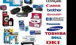 Beskrywing Toners and cartridges (HP, Kyocera, Samsung,