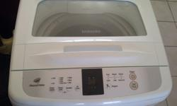 9 KG sum sang top loader washing machine just used for