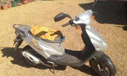 Tornado 90 pgo scooter. Grey color not been used for 10