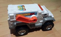 Ambulance with opening stracher in Excellent condition
