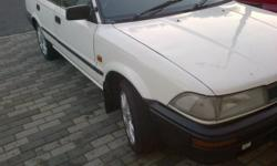Selling toyota corolla 1.3L bubble shape. Car is in