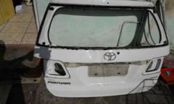 Back Hatch Bare small dent on Price R1700 & BOTH Call