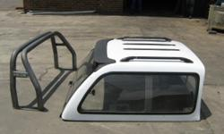 Carryboy canopy vir Toyota Hilux Dubbel Cab 2005 model
