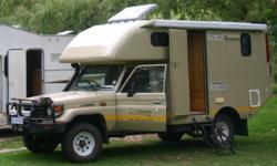 2005 Toyota Land Cruiser Motorhome, Extended Chassis