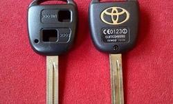 Toyota RunX/Camry 2 Button remote key case/shell/fob +