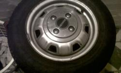 "Hi I have 13"" toyota steelies for sale. Wheels comes"