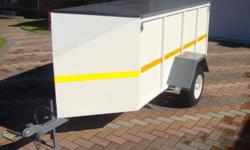 Trailer totally restored(New). Ideally for courier