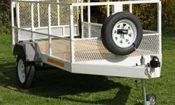 Dirt road trailer. Heavy duty chassis. 1.5 x 2.4m.