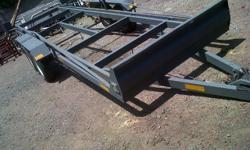 6 meter long and 1.5m wide double axle trailer for