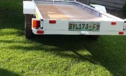 2.7m by 1.2m trailer for sale. 700kg