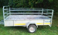 trailer  galvanized  3 m x 2 meters in good condition