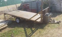 Trailer in good condition, new tyres and rims.