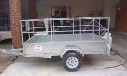 We custom build trailers according to your specs.All