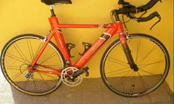 Soort: Bicycle Trek Tri bike in good condition for
