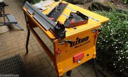 Triton 2000 workcentre. slightly used