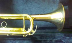 Yamaha model 4335G Intermediate Bb trumpet made in