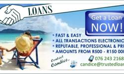 TRUSTED LOANS  -Established Service provider- -from