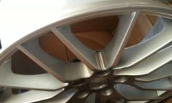 Used set of TSW 17 inch rims 5 PCD 100. The rims are