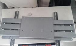 Silver heavy duty bracket for sale for large TV for