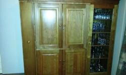 Solid Kynsna Yellowood TV Cabinet for sale. Excellent