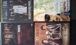 TV SERIES LOT OF 4BOXSETS CRIMINAL MINDS SEASONS