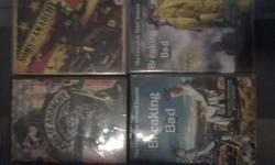 TV SERIES SONS OF ANARCHY & BREAKING BAD LOT OF 4 DVD