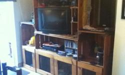Beskrywing Custom made TV Unit for sale Solid Pinewood
