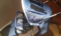 Chelino twin pram in excellent condition. Bought it