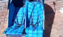 Twin stroller still in very good condition. Comes