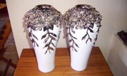 Got these two vases for sale. Identical and in