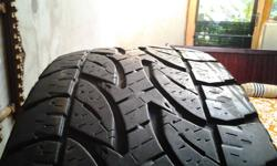 4 Bridgestone duelers for only R600 each.these tyres
