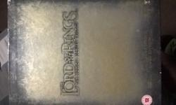 LORD OF THE RINGS ULTIMATE DVD COLLECTION 12DISCS!THIS