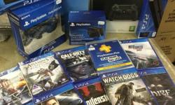Sony Playstation 4 Console 500Gb with DualShock4