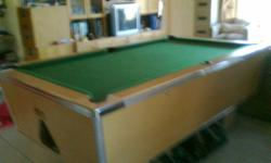 Soort: Billiard or Pool Table As good as new/ Not coin