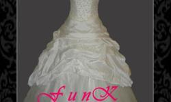 Beskrywing New Wedding Dress Size 32-36 Made to fit