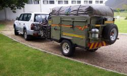 Very robust and no-nonsense trailer old-school type -
